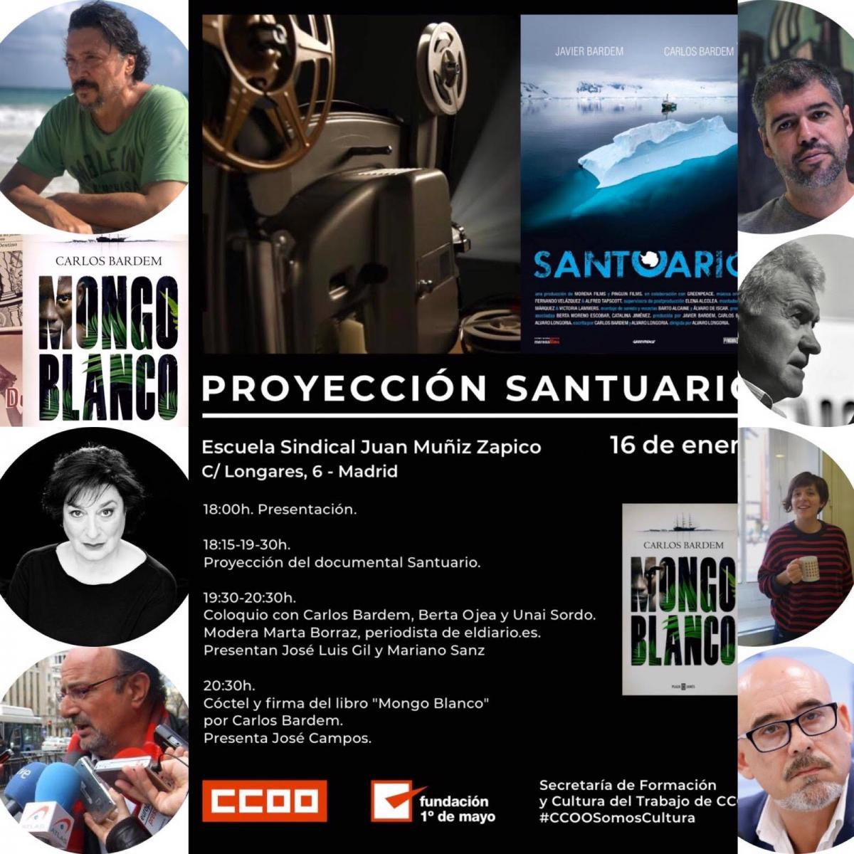 Cartel documental Santuario