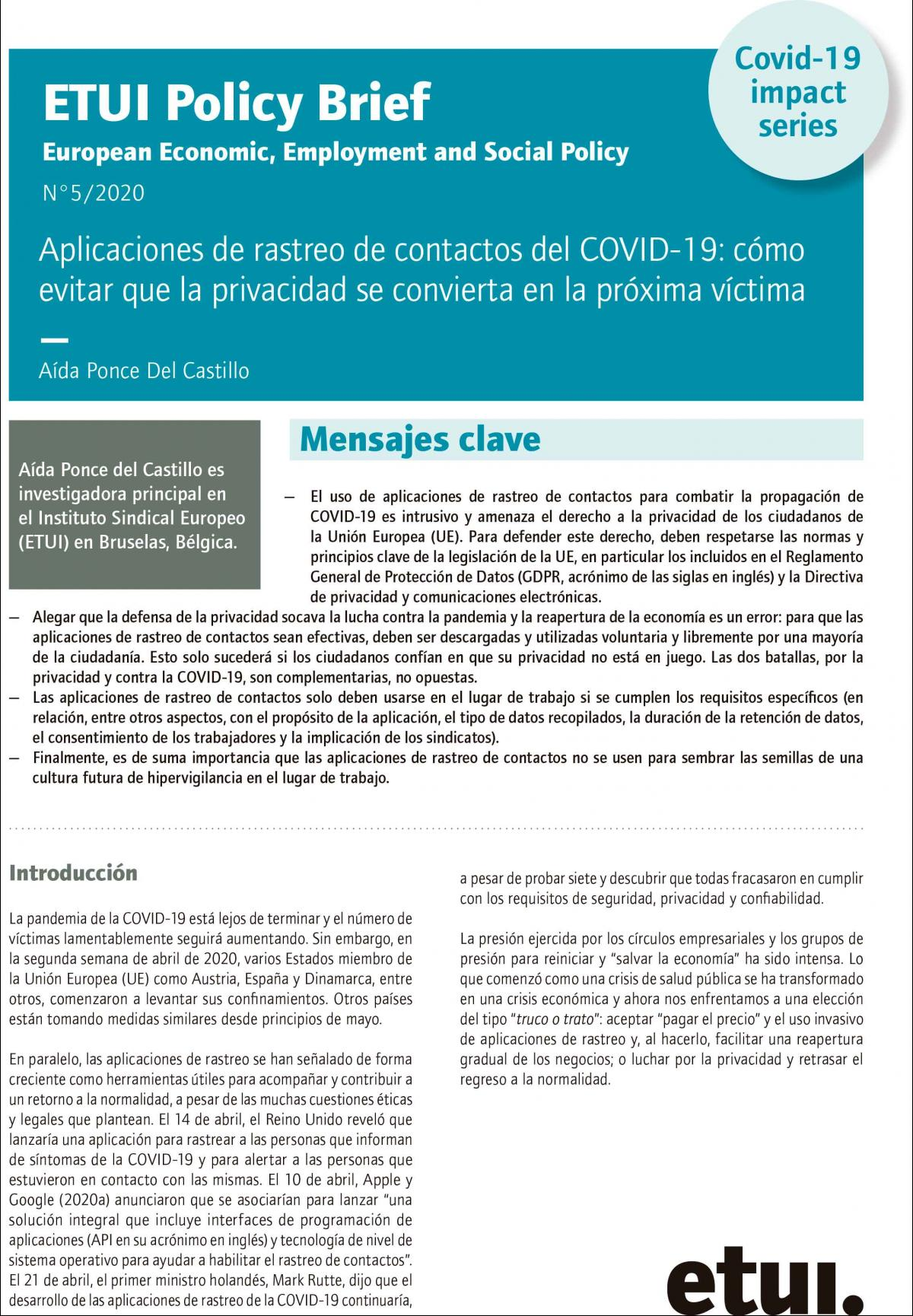 portada_policy_brief_covid_19_etui_5_2020